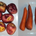 Papa y zanahoria