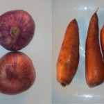 Cebolla y zanahoria
