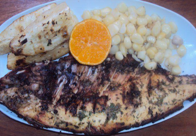 Sabalo a la parrilla de hobby chef - Parrillas para pescado ...