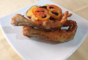 Patitas de pollo al horno